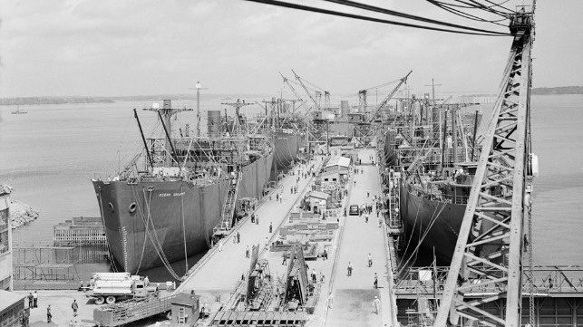 Bill Introduced to Honor U.S. Merchant Mariners of WWII