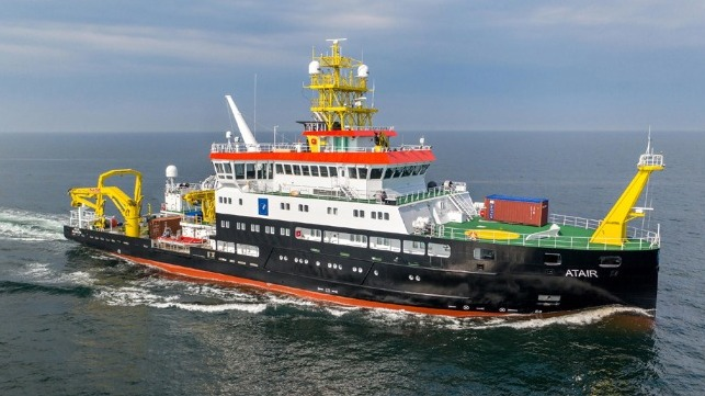 Germany building world's first LNG-powered research vessel