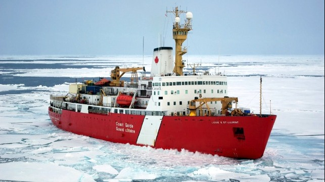 Canadian Coast Guard icebreaker construction
