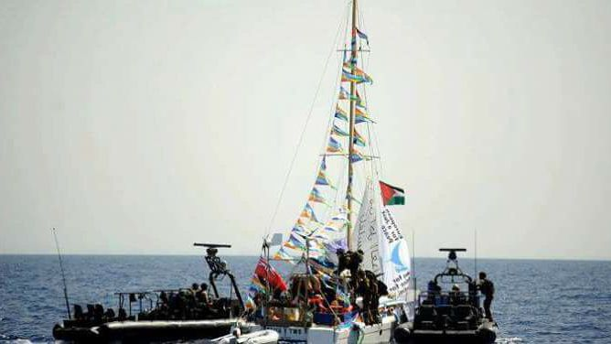Israel Attacks Women's Boat to Gaza