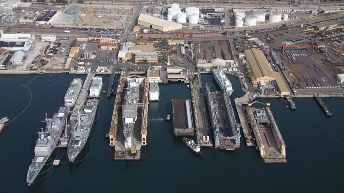 Two naval yard workers arrested for bomb threats for Outboard motor repair san diego
