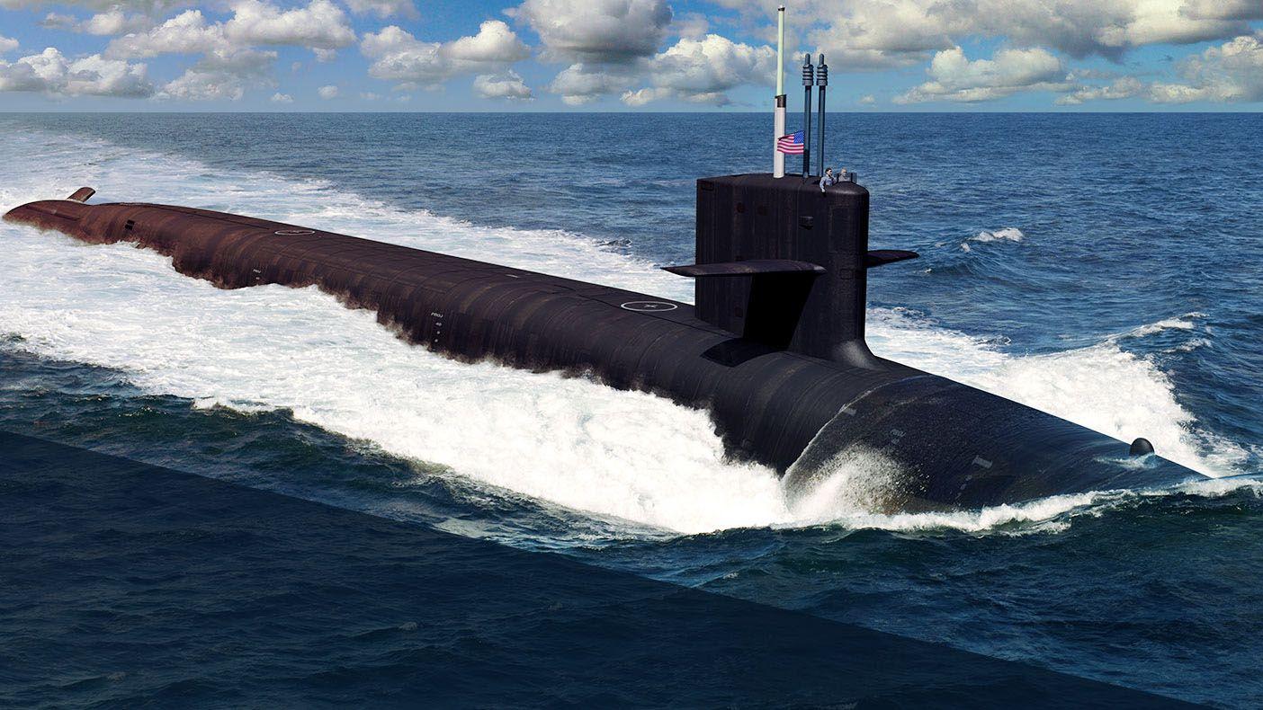General Dynamics Delivers Submarine Colorado - Bring It On Rocketman
