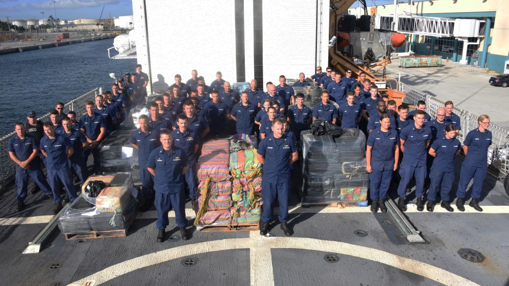 Coast Guard Offloads Cocaine And Heroin Worth $300 Million At Port Everglades