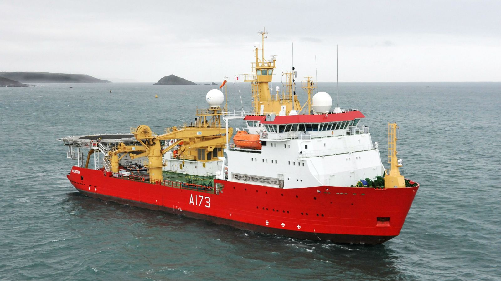 U K Fisheries Patrol Vessel Heads To Antarctica