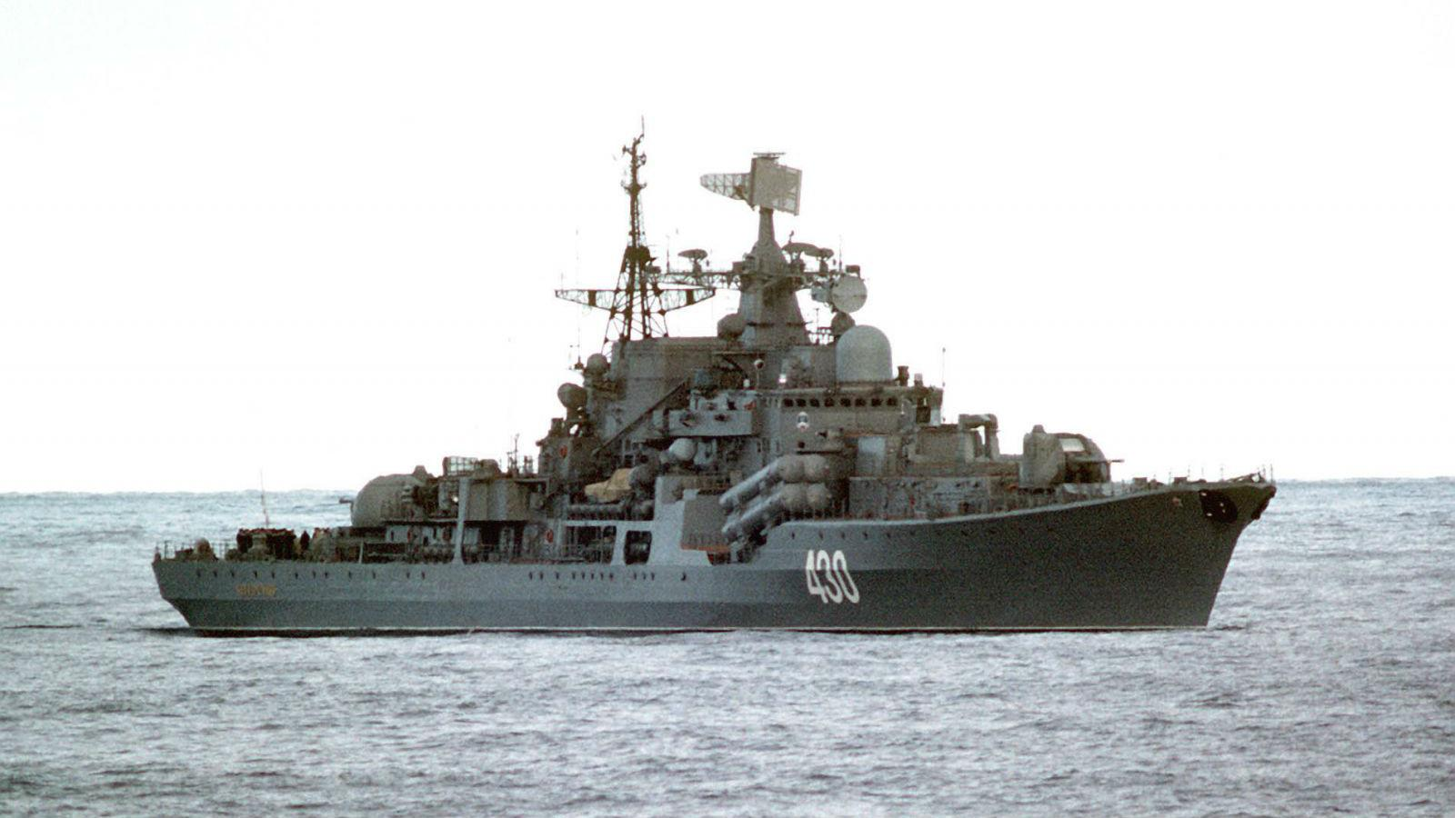 Russian Destroyer