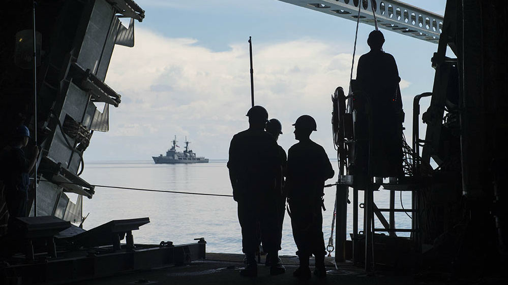 US, Philippines Hold Naval Patrol to Deter Islamist Militants