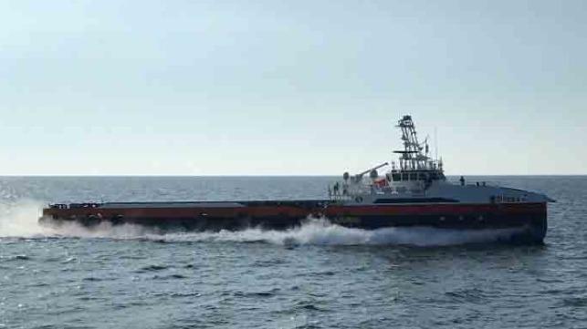 U.S. Navy unmanned surface vessel long-range autonomous test