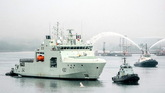 first Arctic and Offshore Patrol Ship delivered to Government of Canada