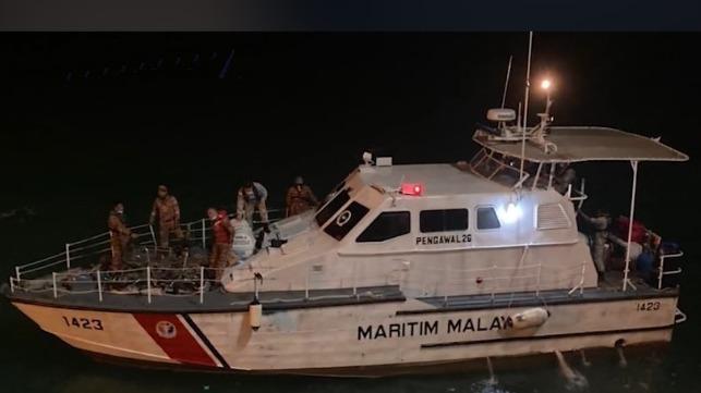 Malaysia MEDEVAC on tanker