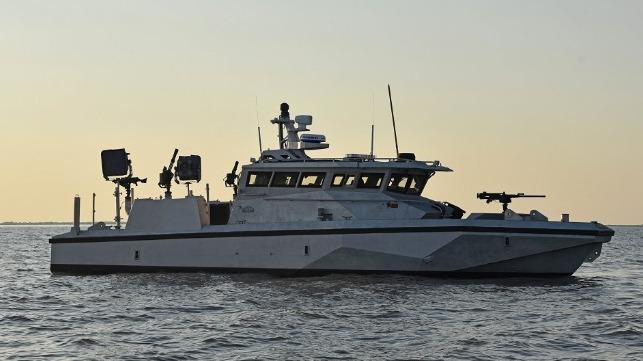 U S Navy Gets New Heavily Armed Port Patrol Boat