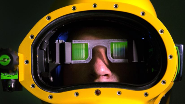 Diver's heads up display