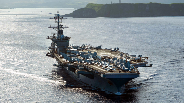 new cases of virus on carrier Theodore Roosevelt