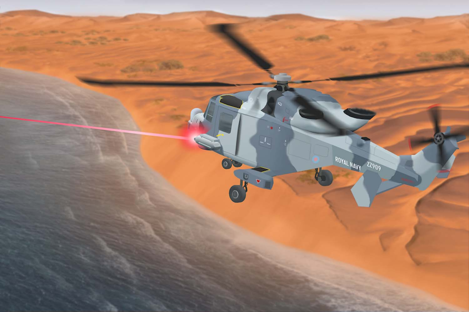 UK Invests Millions in Laser Weapons Systems for Royal Navy