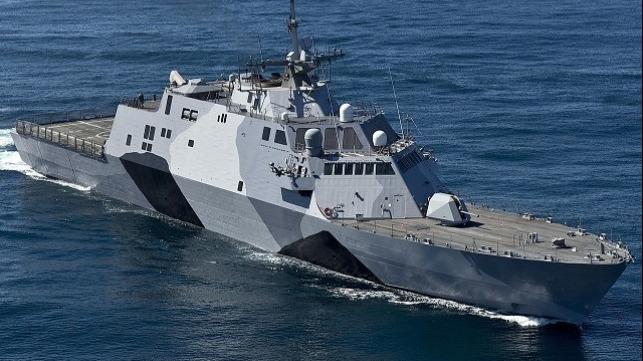 file photo of U.S. Navy Littoral Combat Ship
