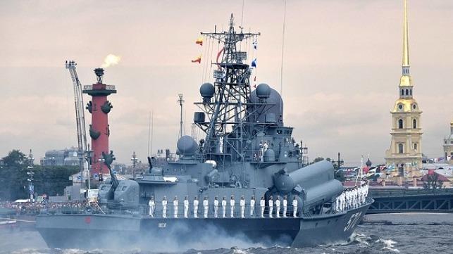 russian parade