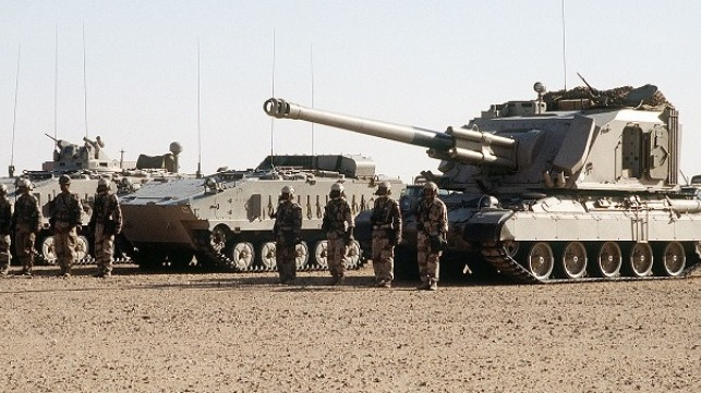 file photo of Saudi Arabian land forces