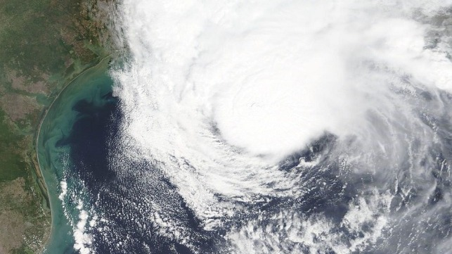 nasa photo of tropical storm beta