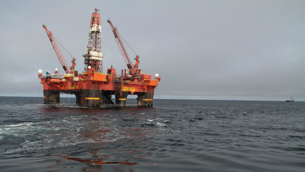 Kara Sea drilling