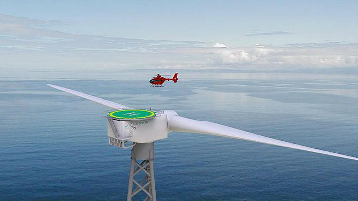 Two-Blade Turbines the Future of Offshore Wind Energy?