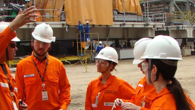 Petrobras workers