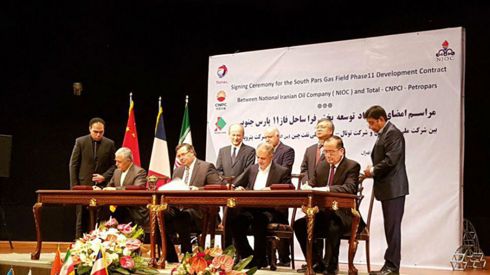 Total, CNPC seal $5b gas deal with Iran