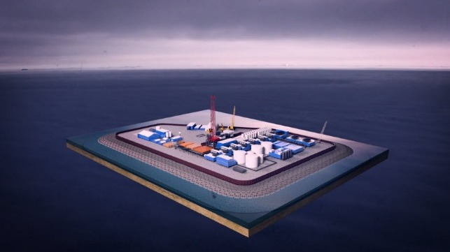 New Oil and Gas Island Approved off Alaska