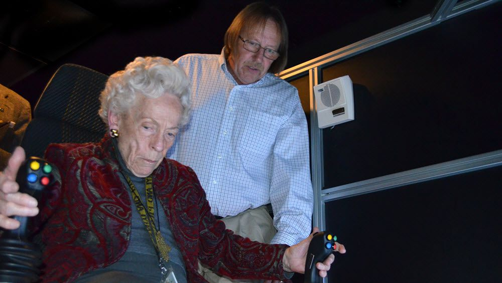 89 year old lady achieves bucket list