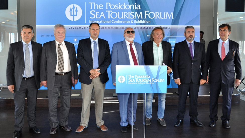 Posidonia Sea Tourism Forum members