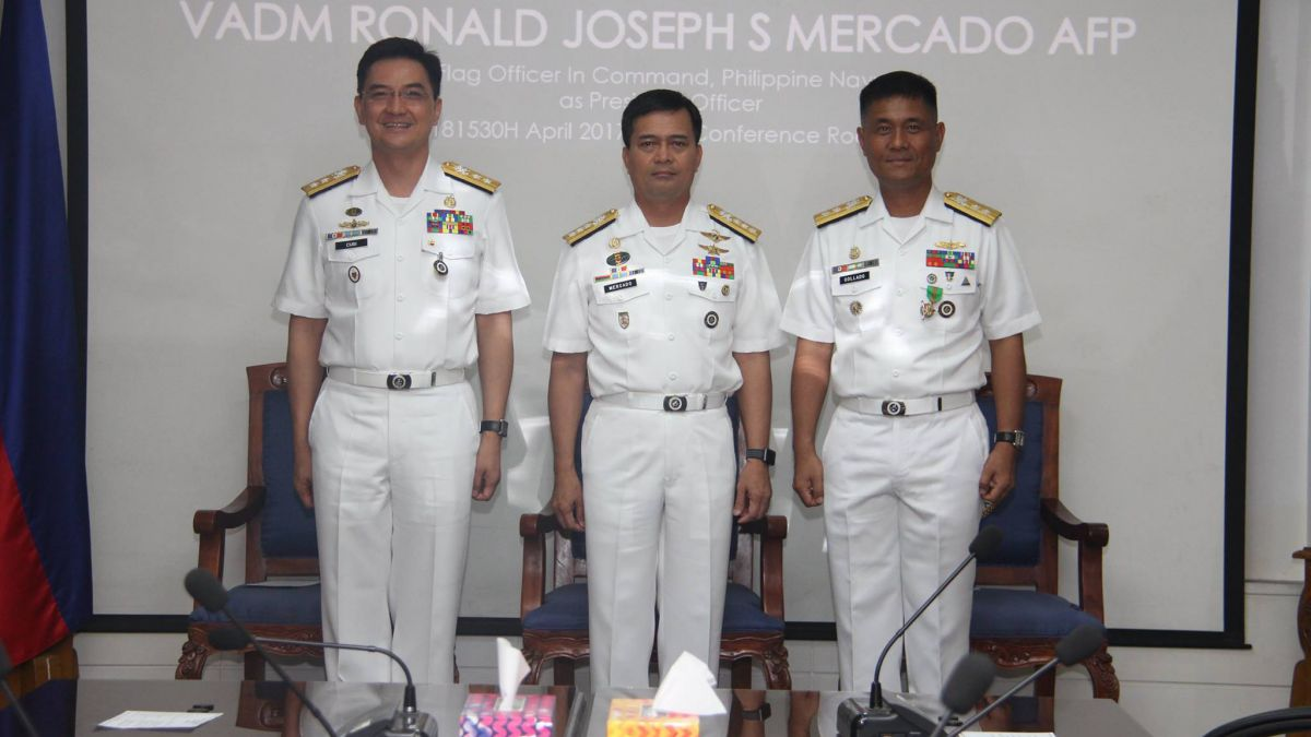 Philippine navy chief sacked for disobeying orders