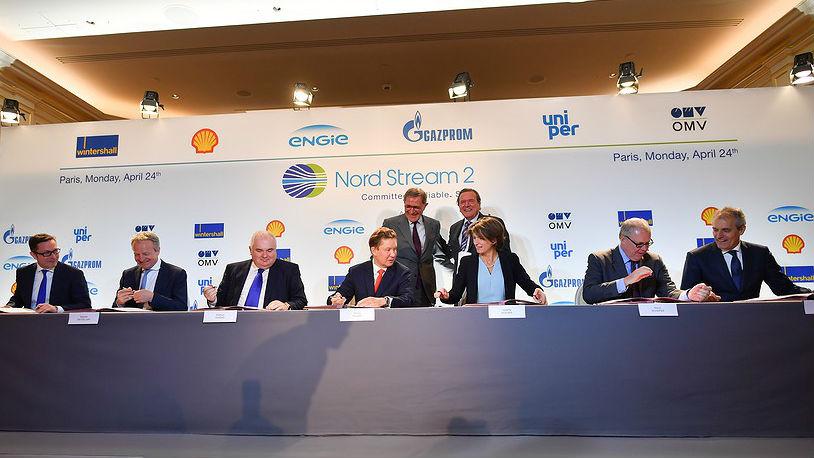 Gazprom's western partners agree Nord Stream 2 gas pipeline financing