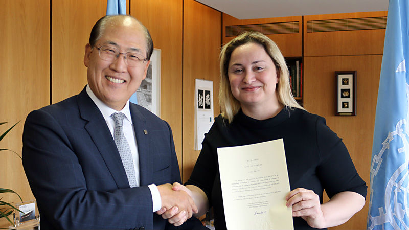 Norway hands over instrument
