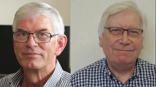 L-R:  Harry Klaverstijn and Dave Parslow