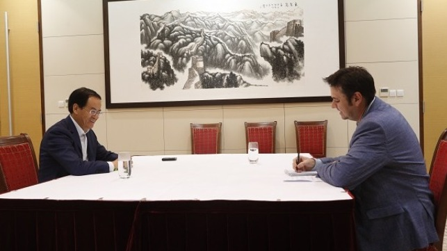 Chinese Ambassador Cheng Jingye was interviewed by Australian Financial Review political correspondent Andrew Tillet on 26th April 2020.