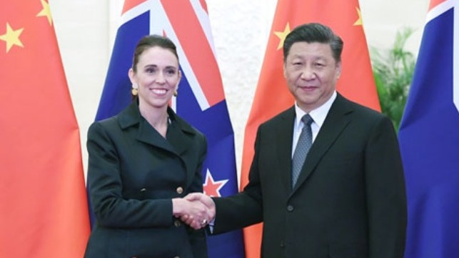 New Zealand will send a high-level delegation to the second Belt and Road Forum for International Cooperation to be held in Beijing later this month.