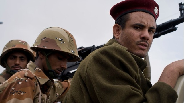 file photo: Yemeni soldiers