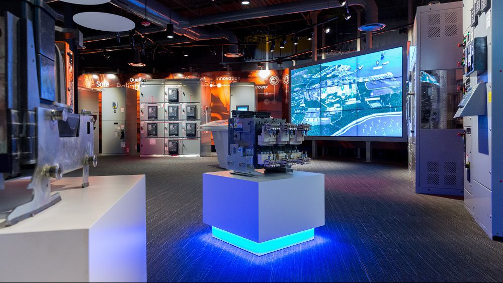 experience center customer ge showroom interactive celebrates opening grand technology global mebane regional serve