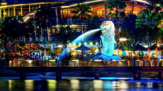 Singapore's Merlion