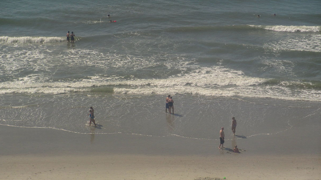 South Carolina beachgoers