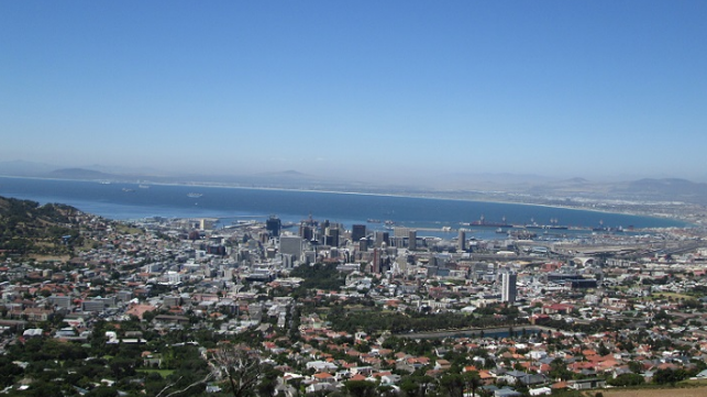 Cape Town courtesy of Harry Valentine