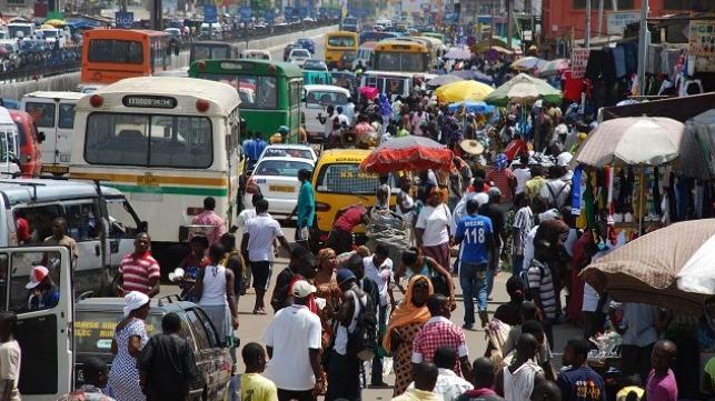 A street in Ghana