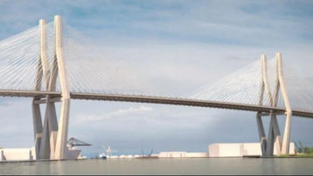 Mobile River Bridge proposal