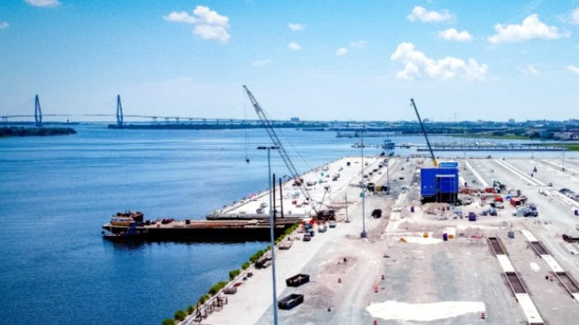 New container and cruise terminals for Charleston South Carolina