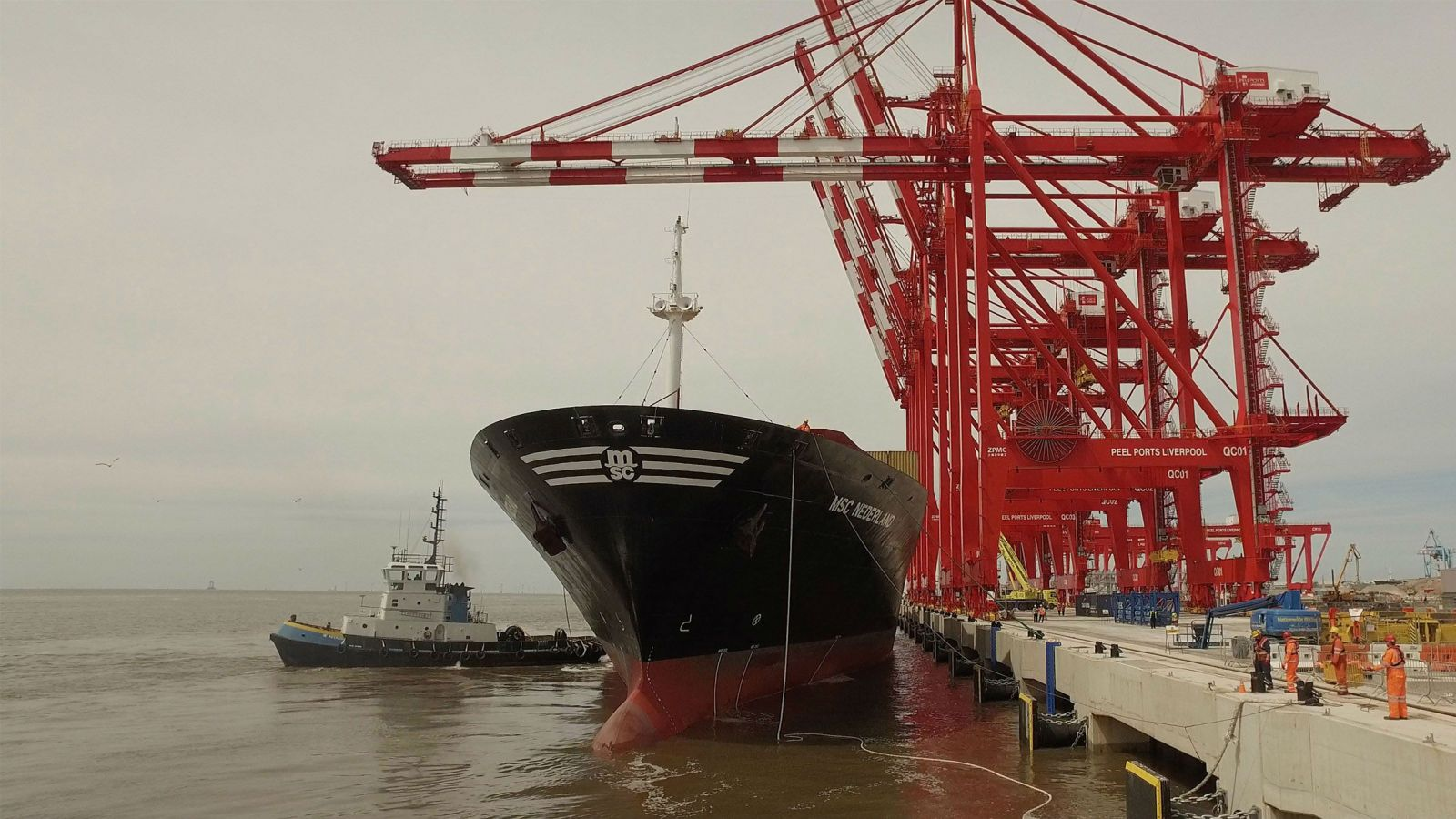 Port of Liverpool opens new deepwater L2 container terminal