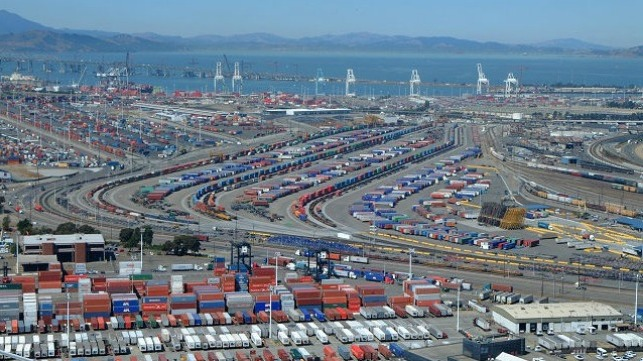 file photo of Port of Oakland