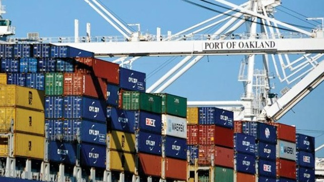 Port of Oakland experienced an unexpected increase in import volumes in June 2020