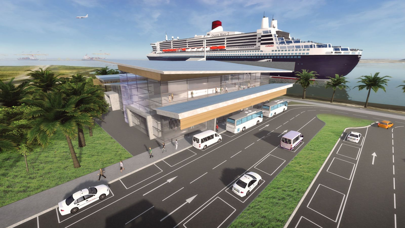 Plans For Brisbane S Mega Cruise Terminal Agreed