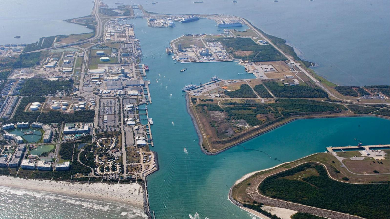Canaveral port