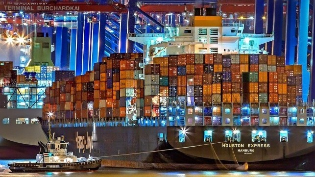 houston express container ship hamburg