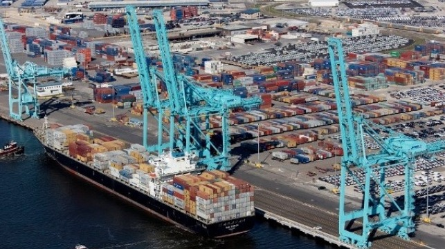 Jacksonville authorizes expenditure for the ongoing dredging as part of the port expansion