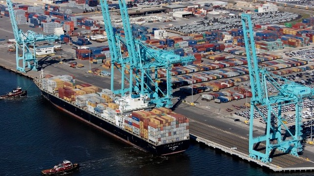 JAXPORT volumes down investing in expansion